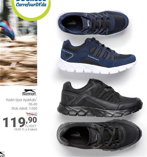 Slazenger Kadın Spor Ayakkabı image
