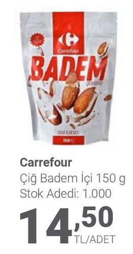Carrefour Çiğ Badem İçi 150 g image