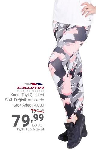 Exuma Kadın Tayt Çeşitleri/Adet image