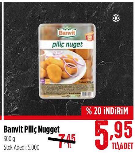 Banvit Piliç Nuget 300 g image