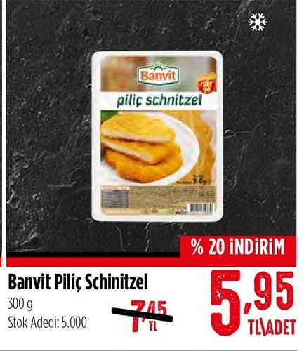 Banvit Piliç Schnitzel 300 g image