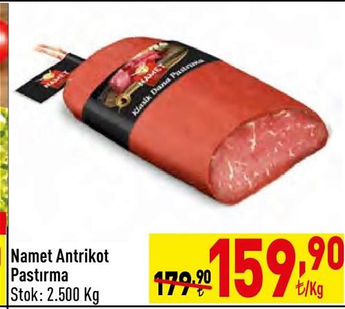 Namet Antrikot Pastırma kg image