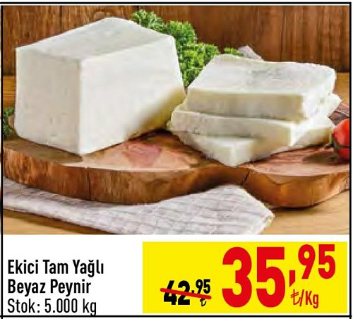 Ekici Tam Yağlı Beyaz Peynir kg image