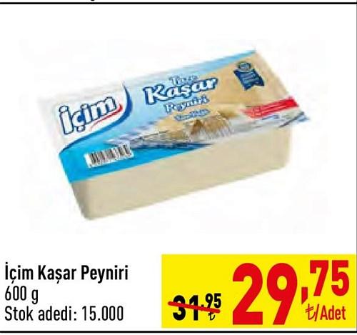 İçim Kaşar Peyniri 600 g image