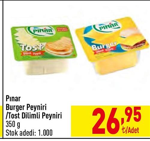 Pınar Burger Peyniri/Tost Dilimli Peyniri 350 g image