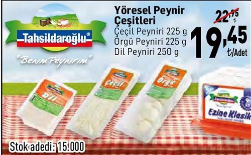 Tahsildaroğlu Yöresel Peynir Çeşitleri/Adet image
