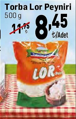 Tahsildaroğlu Lor Peyniri 500 g image