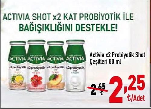 Activia x2 Probiyotik Shot Çeşitleri 80 ml image