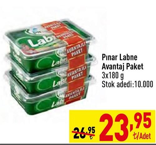 Pınar Labne Avantajlı Paket 3x180 g image