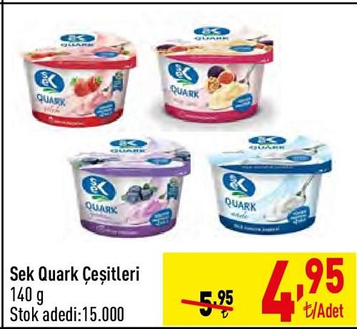 Sek Quark Çeşitleri 140 g image