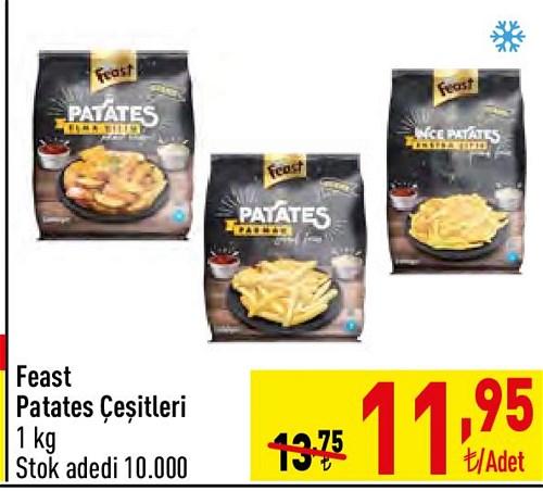 Feast Patates Çeşitleri 1 kg image