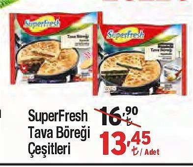 SuperFresh Tava Böreği Çeşitleri/Adet image