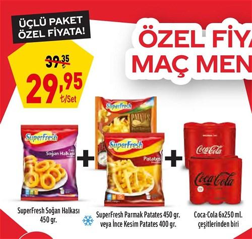 Coca-Cola ve SuperFresh Üçlü Paket image