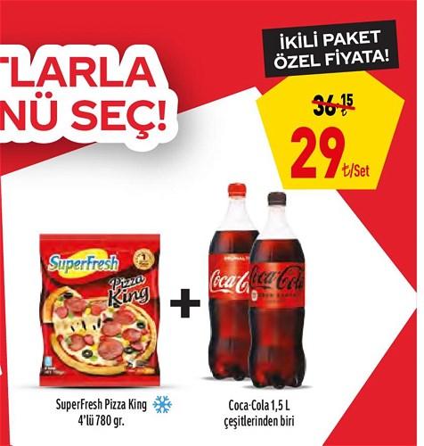Coca-Cola ve SuperFresh İkili Paket image