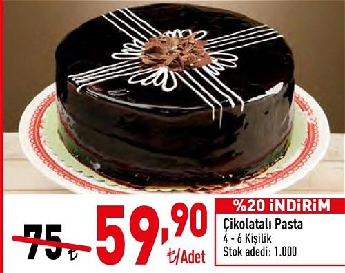 Çikolatalı Pasta 4-6 Kişilik image