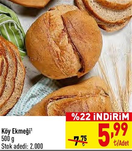 Köy Ekmeği 500 g image