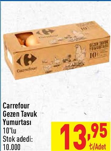 Carrefour Gezen Tavuk Yumurtası 10'lu image