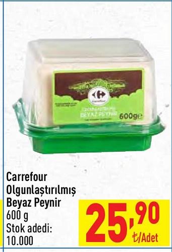 Carrefour Olgunlaştırılmış Beyaz Peynir 600 g image