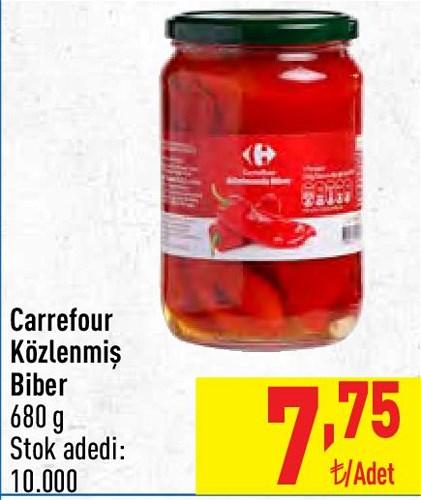 Carrefour Közlenmiş Biber 680 g image