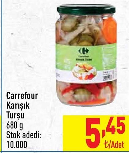 Carrefour Karışık Turşu 680 g image