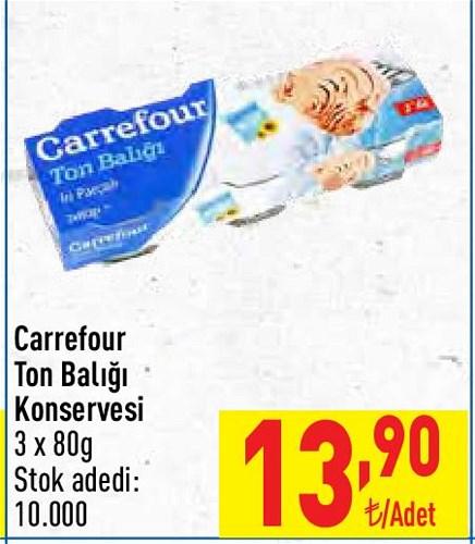 Carrefour Ton Balığı Konservesi 3x80 g image