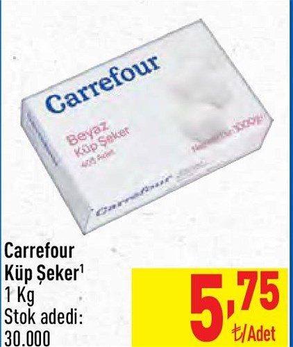 Carrefour Küp Şeker 1 kg image
