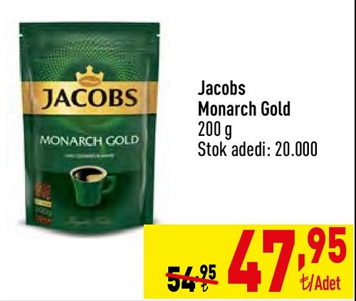 Jacobs Monarch Gold 200 g image