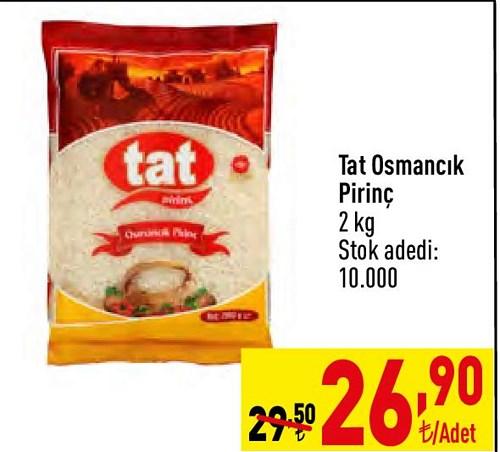 Tat Osmancık Pirinç 2 kg image