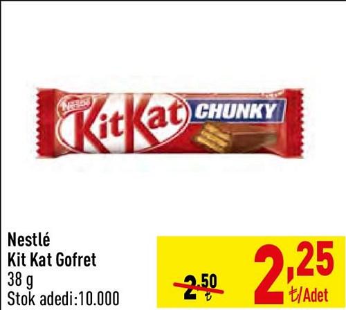 Nestle Kit Kat Gofret 38 g image