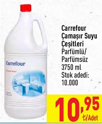 Carrefour Çamaşır Suyu Çeşitleri 3750 ml image