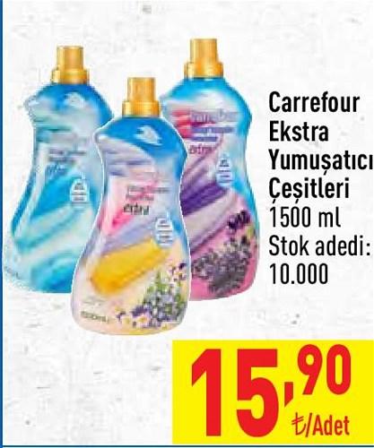 Carrefour Ekstra Yumuşatıcı Çeşitleri 1500 ml image