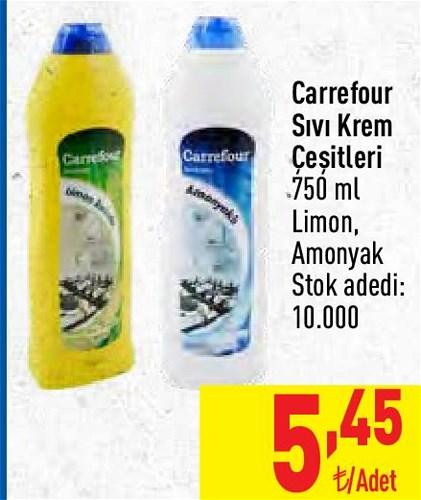 Carrefour Sıvı Krem Çeşitleri 750 ml image