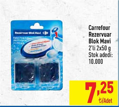 Carrefour Rezervuar Blok Mavi 2'li 2x50 g image