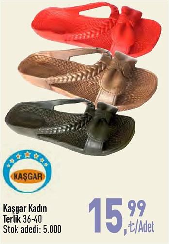 Kaşgar Kadın Terlik  image