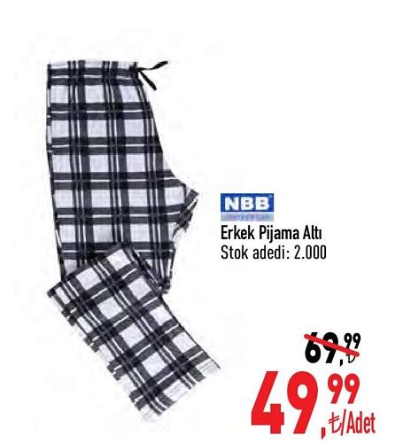 NBB Erkek Pijama Altı image