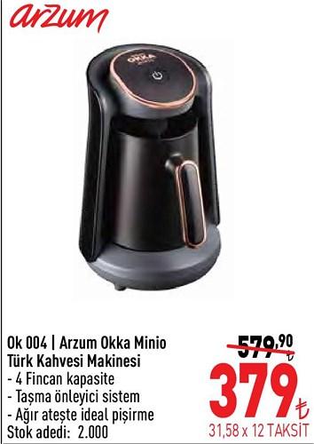 Arzum Ok 004 Arzum Okka Minio Türk Kahvesi Makinesi image