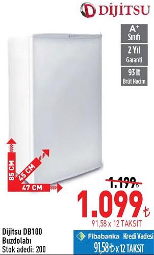 Dijitsu DB100 Buzdolabı image