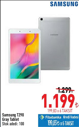 Samsung T290 Gray Tablet image