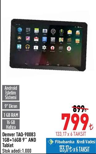 Denver TAQ-90083 1GB+16GB 9'' And Tablet image