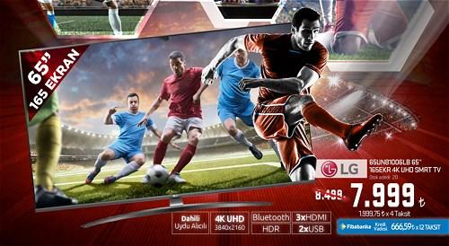 "LG 65UN81006LB 65"" 165 Ekran 4K UHD Smart Tv image"