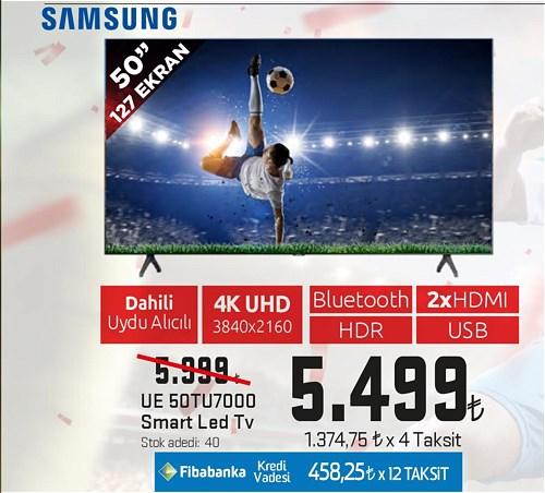 "Samsung UE 50TU7000 50"" 127 Ekran Smart Led Tv image"
