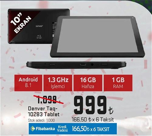 Denver Taq-10283 16 GB Tablet image