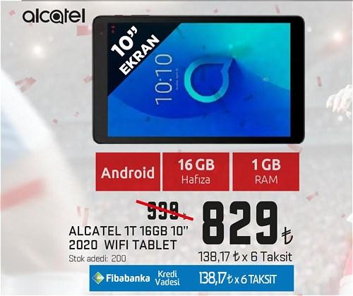 "Alcatel 1T 16 GB 10"" 2020 Wifi Tablet image"