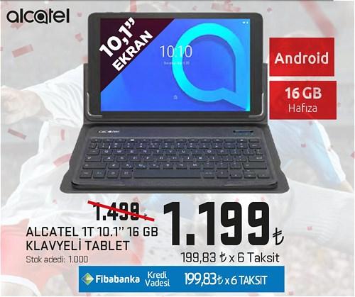 "Alcatel 1T 10,1"" 16 GB Klavyeli Tablet image"