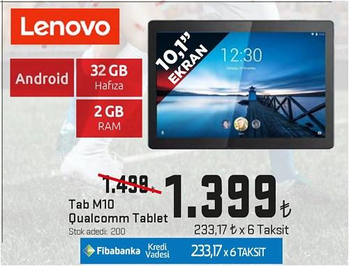 Lenovo Tab M10 Qualcomm Tablet 32 GB image