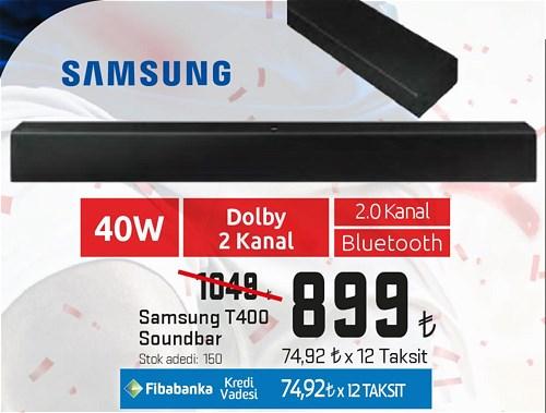Samsung T400 Soundbar image