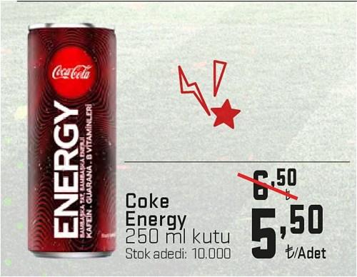 Coke Energy 250 ml Kutu image