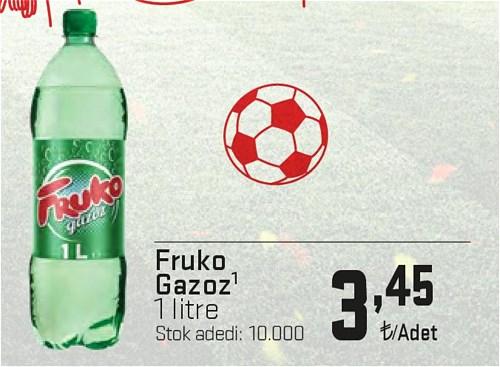 Fruko Gazoz 1 l image
