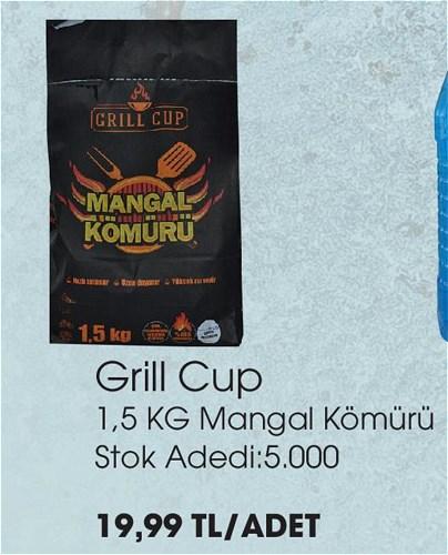 Grill Cup 1,5 kg Mangal Kömürü image