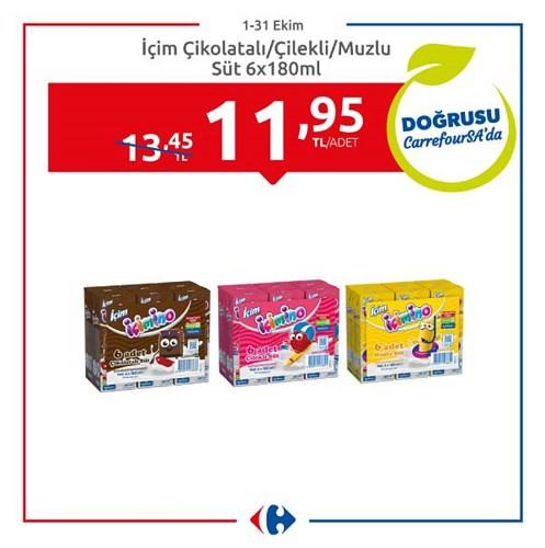 İçim Çikolatalı/Çilekli/Muzlu Süt 6x180 ml image